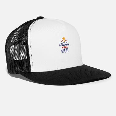Rugby Winners nevers quit - Trucker Cap