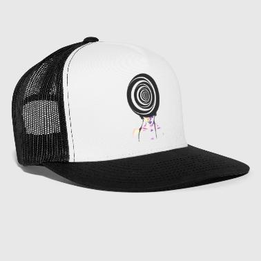 Watercolor Op Art 1 - Trucker Cap