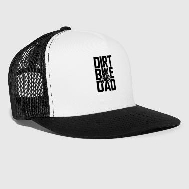 Supermoto Dirt Bike Dad - Trucker Cap