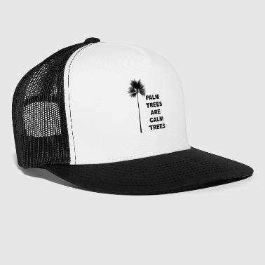 Coconut Palm Trees Gift for Tropical California Beach and Coconut Lovers - Trucker Cap