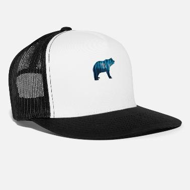 Clima Baer polarbear code save planet clima world nature - Trucker Cap