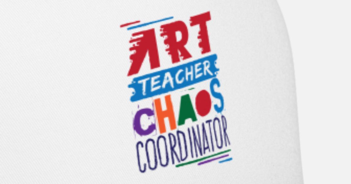 593bf979aea Art Teacher Chaos Coordinator Trucker Cap   Spreadshirt
