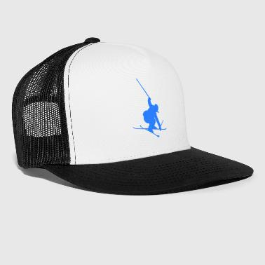 Ski Jumping Ski Skiing Freestyle Jump Winter Sports Jumping - Trucker Cap