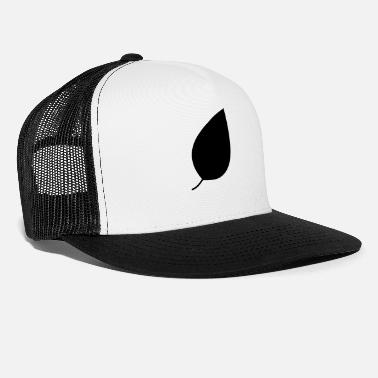 Naive Two colour leaf vectorized - Trucker Cap