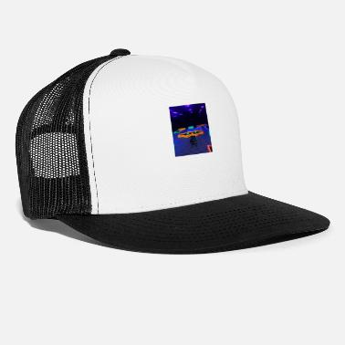 Black Light Neon Lights - Trucker Cap