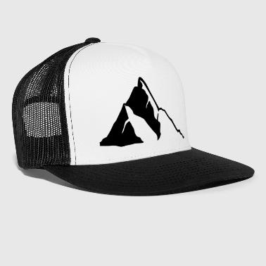 Mountains Mountains, Mountain - Trucker Cap
