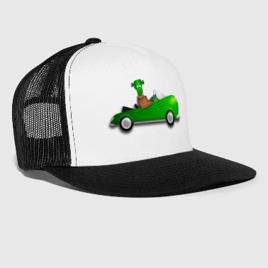 frankenstein car - Trucker Cap