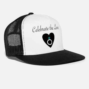 Bridesmaid celebrate the lovMerry Obey X-mas giftidea winter - Trucker Cap