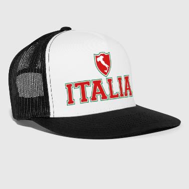 Italy Italia shield - Trucker Cap