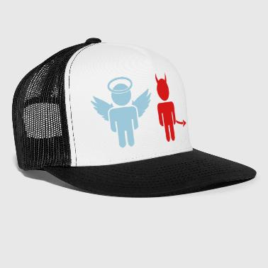 little angel, little devil - Trucker Cap