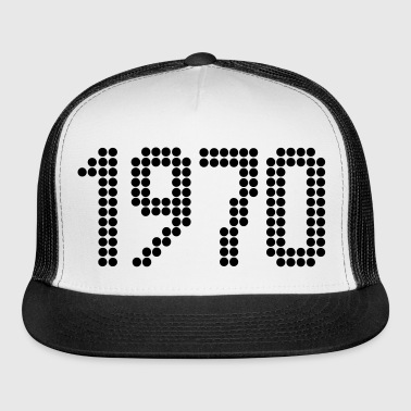 1970, Numbers, Year, Year Of Birth - Trucker Cap