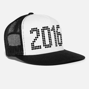 Year 2016, Numbers, Year, Year Of Birth - Trucker Cap