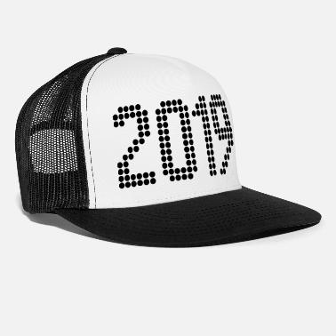2019 2019, Numbers, Year, Year Of Birth - Trucker Cap
