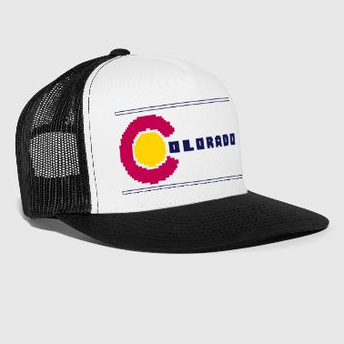 8-Bit Colorado - Trucker Cap