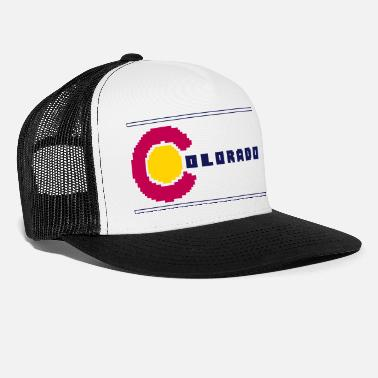Football 8-Bit Colorado - Trucker Cap