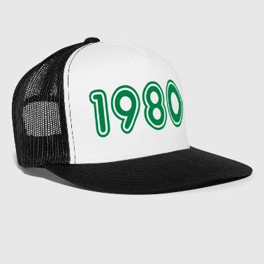 1980, Numbers, Year, Year Of Birth - Trucker Cap