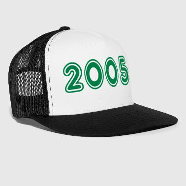2005, Numbers, Year, Year Of Birth - Trucker Cap