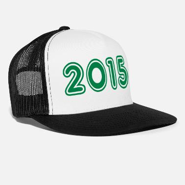 Year Of Birth 2015, Numbers, Year, Year Of Birth - Trucker Cap