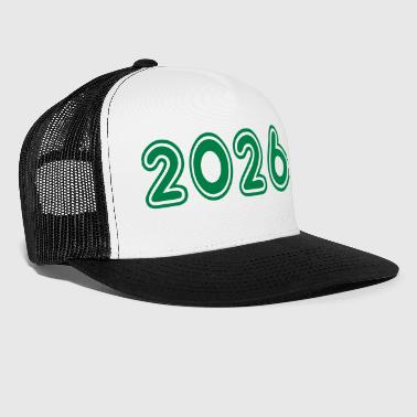 2026, Numbers, Year, Year Of Birth - Trucker Cap