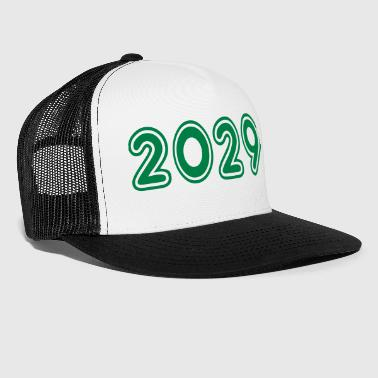 2029, Numbers, Year, Year Of Birth - Trucker Cap
