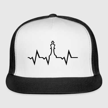Chess Heartbeat - Trucker Cap