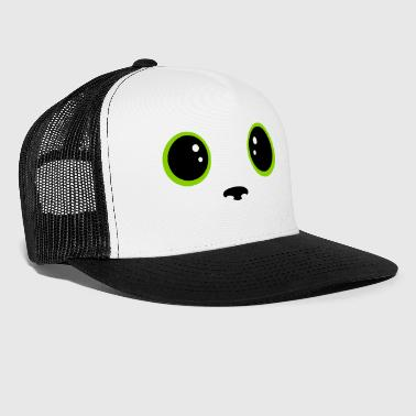 cats eyes kawaii - Trucker Cap