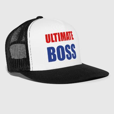 Boss Ultimate Frisbee Hat: Ultimate Boss - Trucker Cap