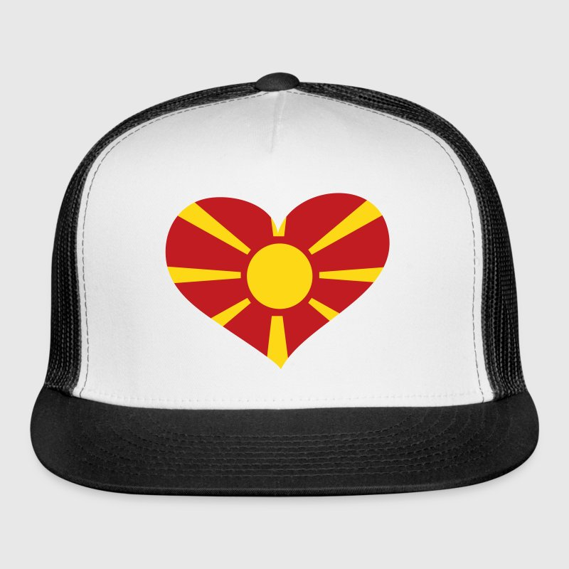 Macedonia Heart; Love Macedonia - Trucker Cap