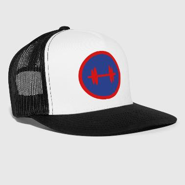 Superhero Super, Hero, Heroine, Superhero, Bodybuilding - Trucker Cap