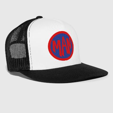Super, Hero, Heroine, Super Man - Trucker Cap
