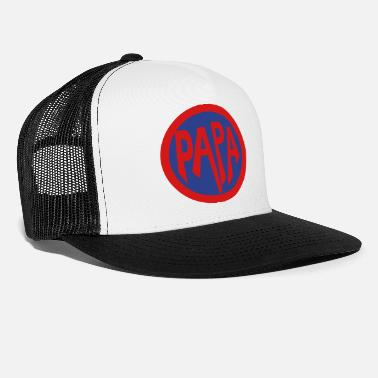 Super Dad Super, Hero, Heroine, Super Papa - Trucker Cap