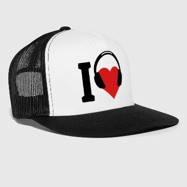 I love Music - Trucker Cap