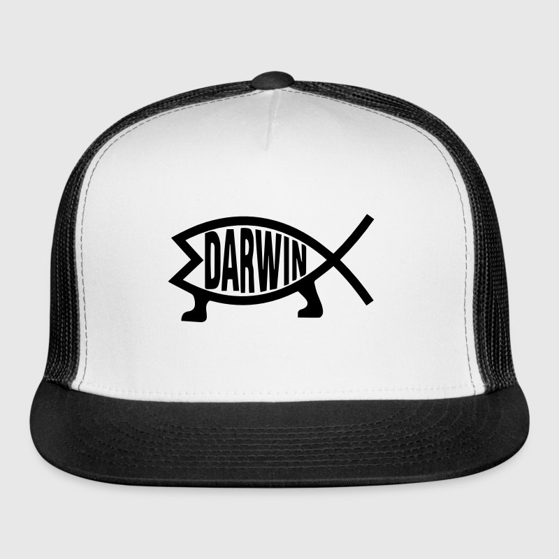 Darwin Fish - Trucker Cap