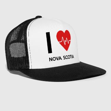 Nova I Love Nova Scotia - Trucker Cap