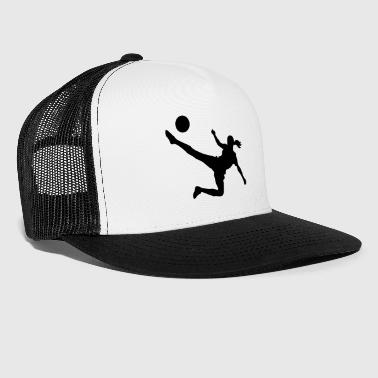 Soccer female - Trucker Cap
