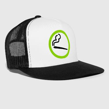 YES SMOKING WEED - Trucker Cap