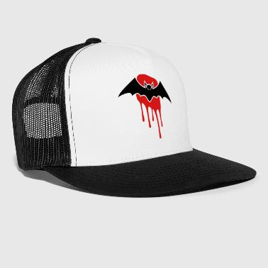 Bat with blood stain - Trucker Cap