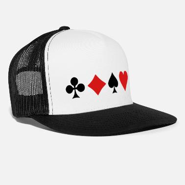 Cards Playing Card Suits - Trucker Cap