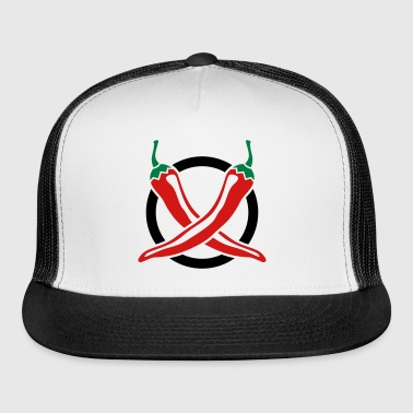 Chillies Design - Trucker Cap