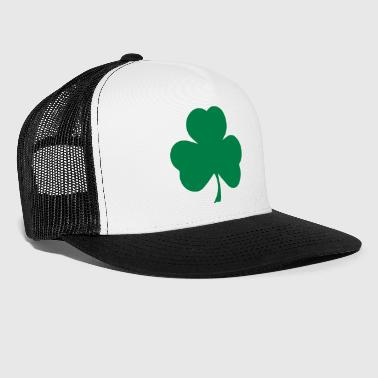 Clover, shamrocks - Trucker Cap