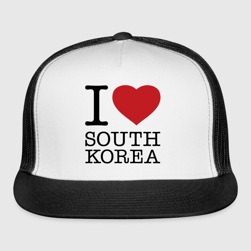 I LOVE SOUTH KOREA - Trucker Cap