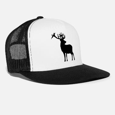 Deer Head deer - Trucker Cap
