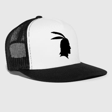 American Indian  Indian - Trucker Cap