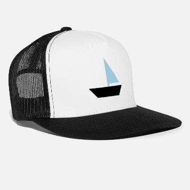 Boat sailboat - boat - Trucker Cap
