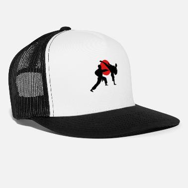 Karate two karate fighter  - Trucker Cap