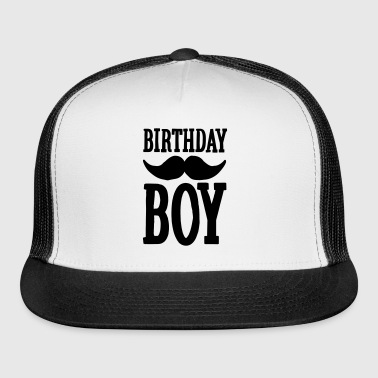 Birthday Boy Hipster - Trucker Cap