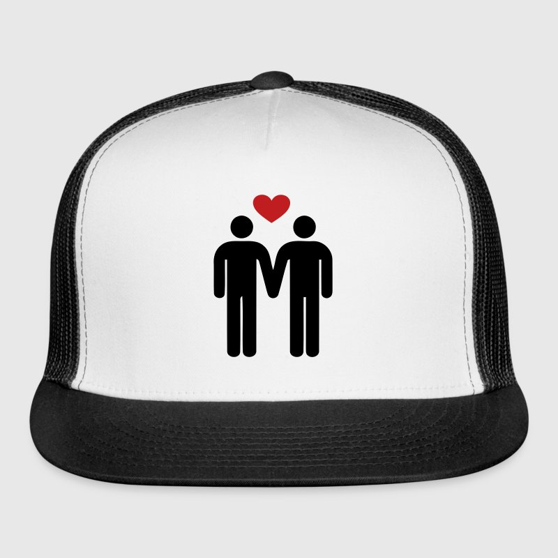 gay love - Trucker Cap