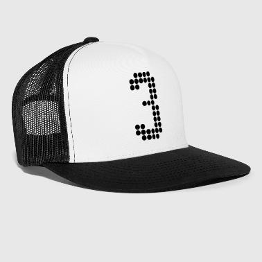Number 3, Numbers, Football Numbers, Jersey Numbers - Trucker Cap