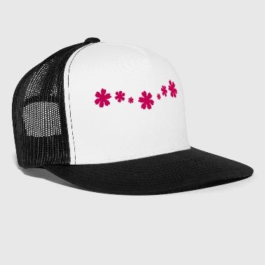Flora Flowers, Flower design - Trucker Cap