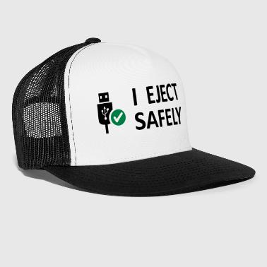 I Eject Safely - USB Innu - Trucker Cap